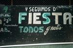 Night Club advertisement (Mexico City)