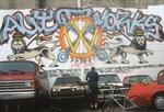 Auto works graffiti