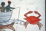 Fishermen and crab