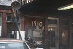 Old garage front