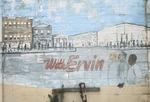 Town wall mural