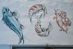 Seafood graffiti