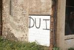 DUI graffiti