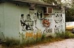 Lounge graffiti