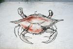 Crab graffiti