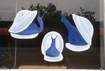 Three Blue Snails