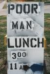 Poor Man Lunch