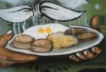 Steaming breakfast