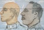 Two men's heads