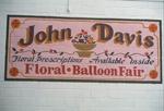 John Davis floral prescriptions