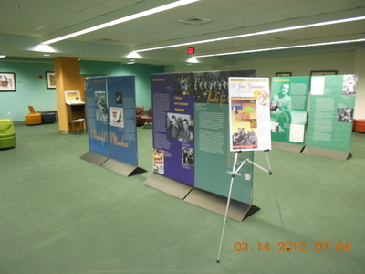 View of Multiple Exhibit Panels