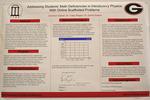 Addressing Students' Math Deficiencies