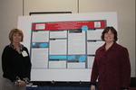 Dr. Keane and Dr. Patten Attending the Poster Session