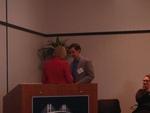 Diana Sturges Introduces Peter Felton as the Keynote Speaker