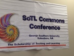 A Banner for the SoTL Commons Conference