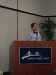 Trent Maurer introduces the Keynote Speaker