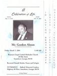 Gordon Alston
