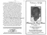 Reverend Joe Frank Brown