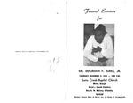 Benjiman F. Burke Jr.