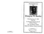 Dwayne W. Burke