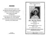Ida Mae Butler