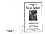 Lula Mae Butler