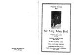 Andy Adam Byrd