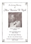 Bernice B. Byrd