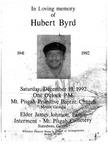 Hubert Byrd