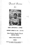 Jethonia I. Byrd