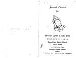 Deacon John B. (J.B.) Byrd
