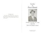 Ernest Bennett