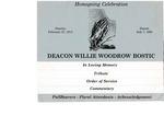 Willie Woodrow Bostic