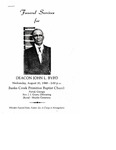 Deacon John L. Byrd