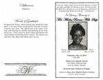 Mrs. Minthia Bernice Mills Sapp
