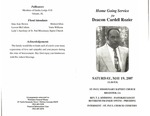 Deacon Cardell Rozier