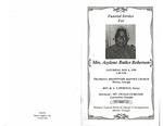 Mrs. Azelene Butler Roberson