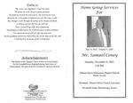 Mr. Samuel Coney