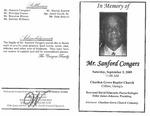 Mr. Sanford Congers